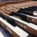 Een verdrietige Steinway piano