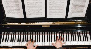 piano spelen in 432Hz