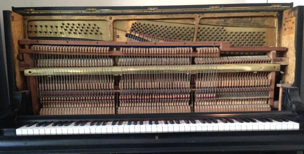 Bovendemper mechaniek piano