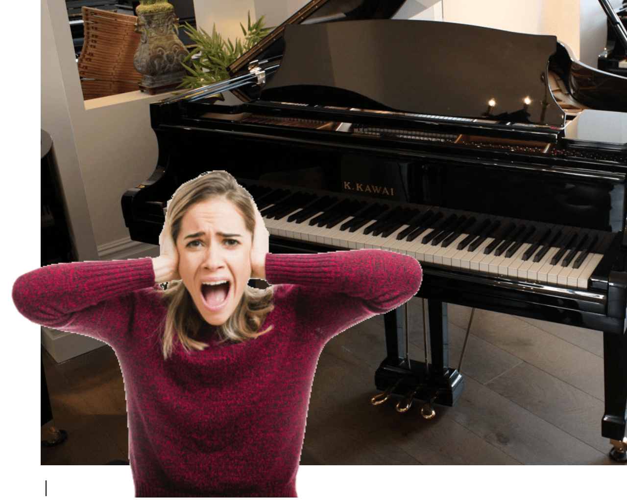 piano zachter maken