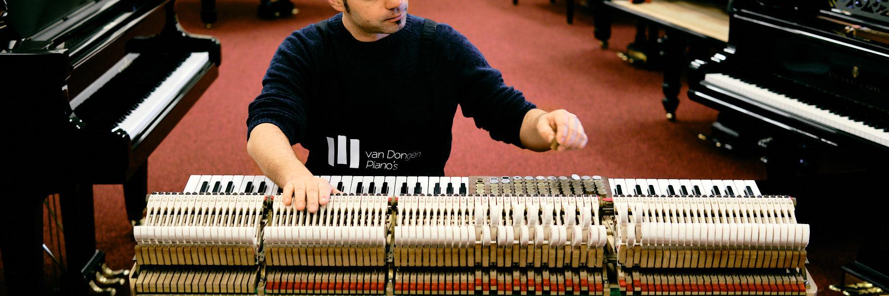 Van Dongen Piano's Pianostemmer 4 tim leguijt fotografie
