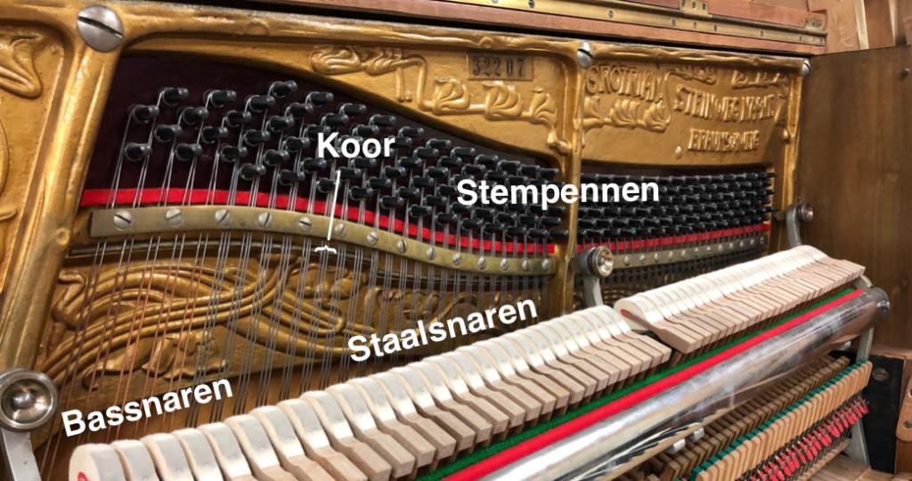 Pianostemmen snaren