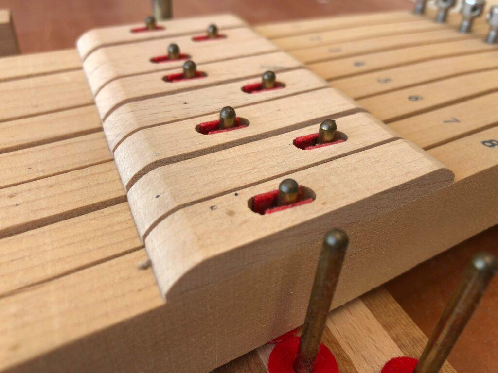 Balansstiften toets piano