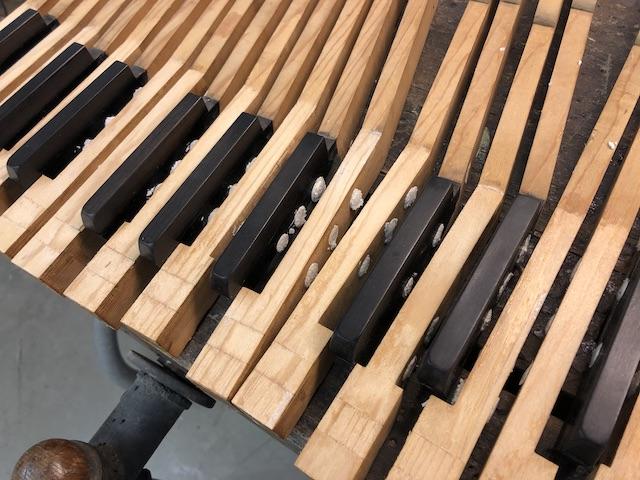 Bechstein wood epoxy