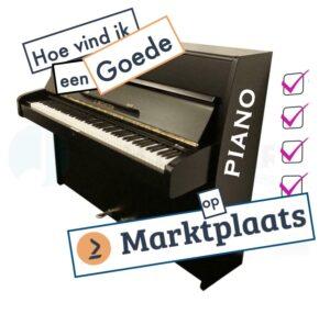 Goede piano marktplaats