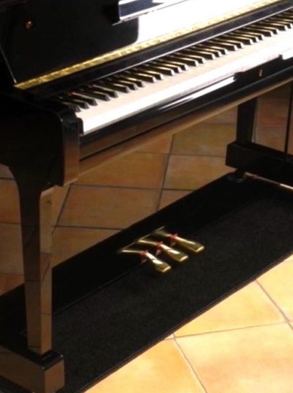 Zelf pianocarpet maken
